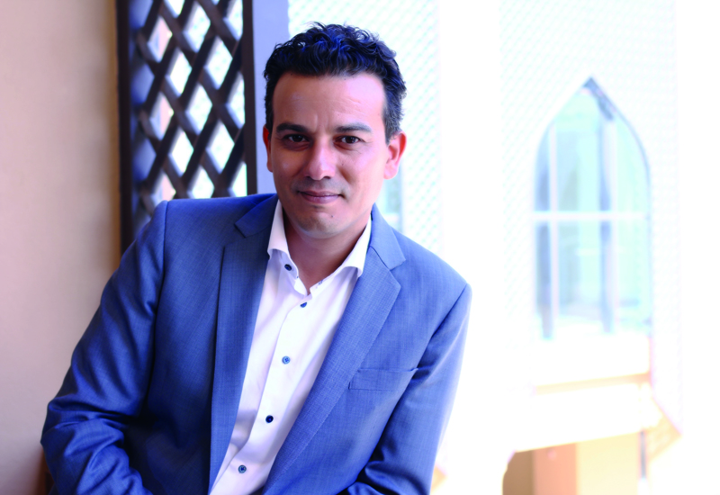 Anantara Oman area director of sales and marketing, Firas Rashid.