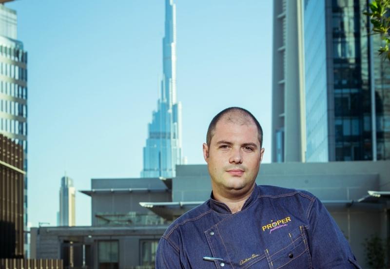 Capital Club Dubai executive chef Andrew Blas.