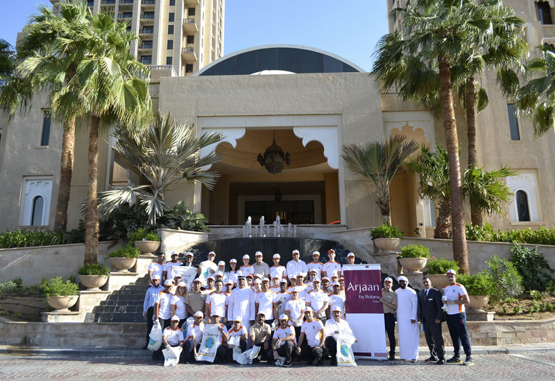 Arjaan by Rotana, Dubai has joined forces with Clean up the World campaign.