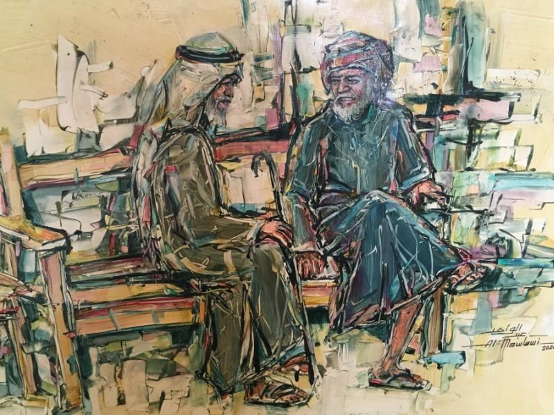 The works of local Qatari artist Abdulwahed Al-Mawlawi are showcased at W Hotel Doha's Art 29 gallery until July 25, 2017.