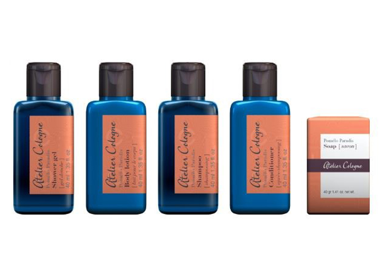 The new hotel line from Groupe GM and Atelier Cologne.