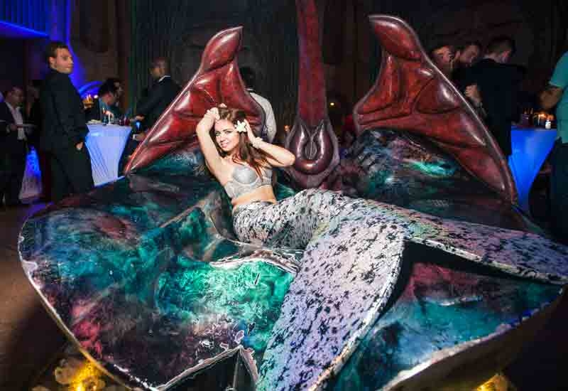 PHOTOS: Atlantis The Palm's underwater ATM party