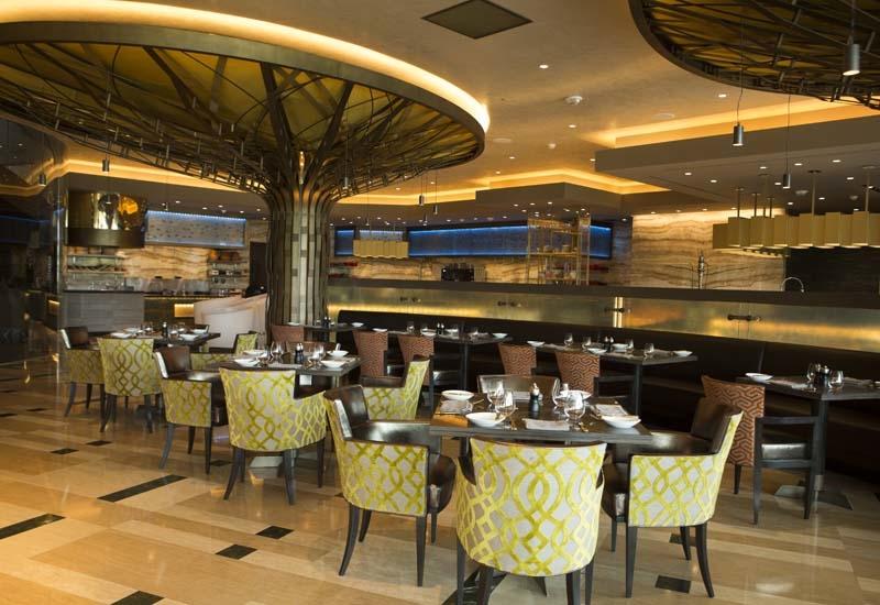 Bahrain Bay Kitchen is the live-action restaurant