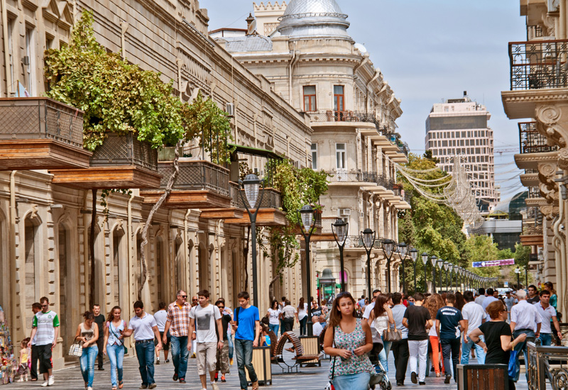 Nizami Street is a large pedestrian and shopping street in downtown Baku, named after classical poet Nizami Ganjavi.