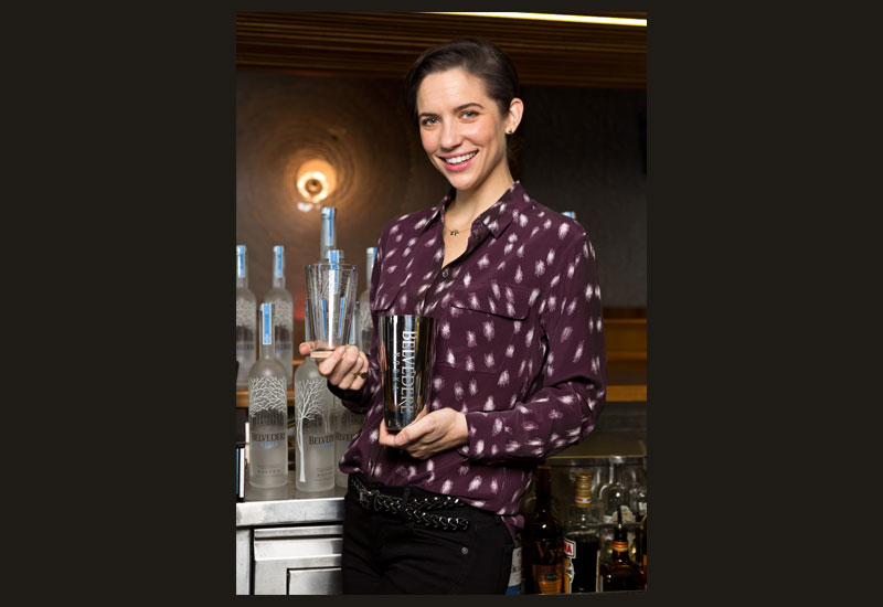 Ali Dedianko says it's important for bartenders to learn the basics of how flavours work together [Photo: Danny Allison/ITP Images].