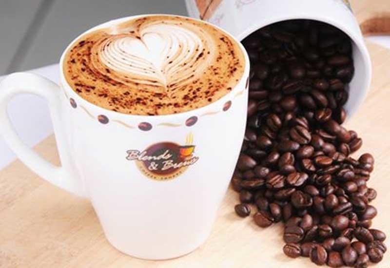 Blends & Brews Coffee Shoppe.