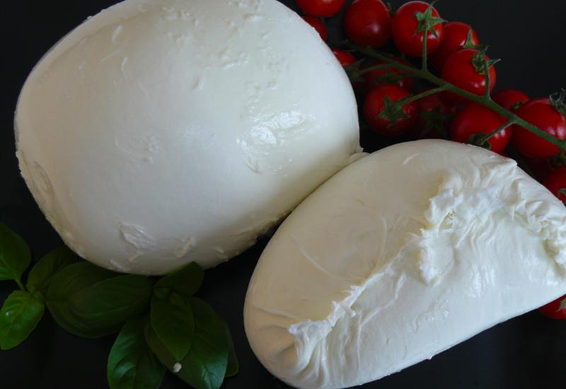 Buffalo mozzarella made locally.