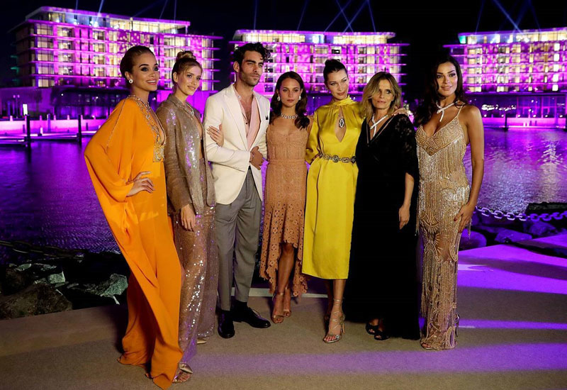 Bulgari brand ambassadors and VIPs attended the launch.