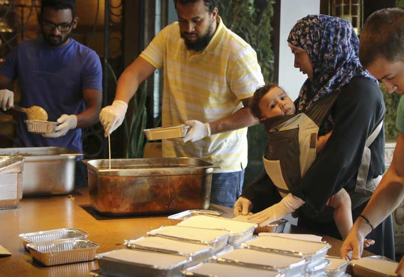Dubai-based Peruvian restaurant Coya yesterday distributed over 140 hand prepared meals on the first day of its Ramadan-inspired initiative.