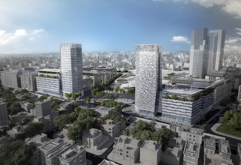 A bird's eye view of Campbell Gray Living Amman.
