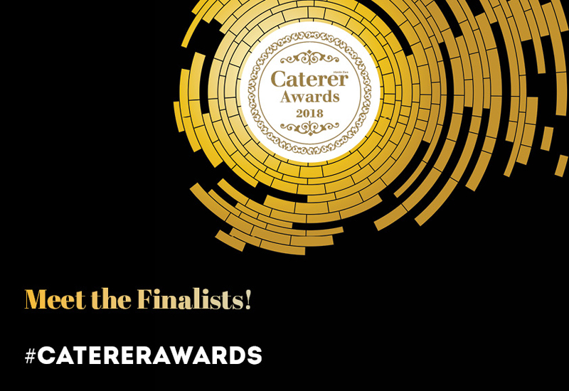 Meet the finalists of the Caterer Awards 2018!