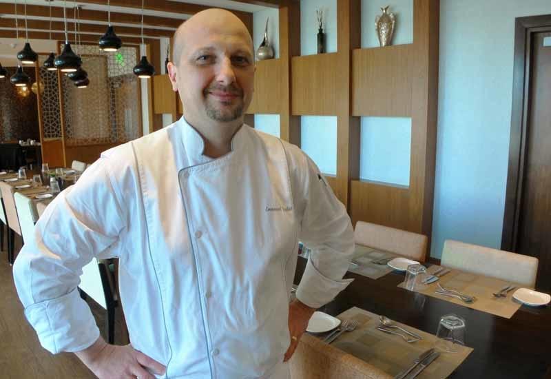 Chef Emmanuel Pauliat, executive chef.