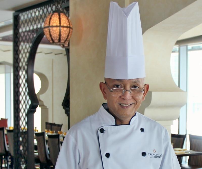 Shangri-La Hotel, Doha head pastry chef Nana Supriatna.