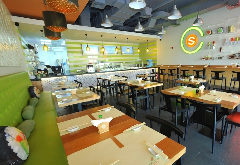 Chez Sushi in Business Bay