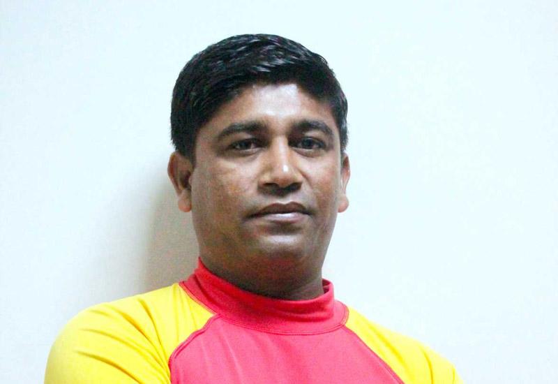 Chinthaka Fernando, recreation coordinator, Le Meridien Al Aqah Beach Resort, Fujairah
