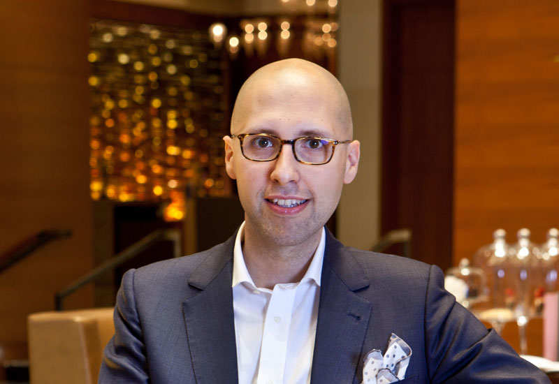 Claudio Roscigno, director of sales and marketing at Rosewood Abu Dhabi.
