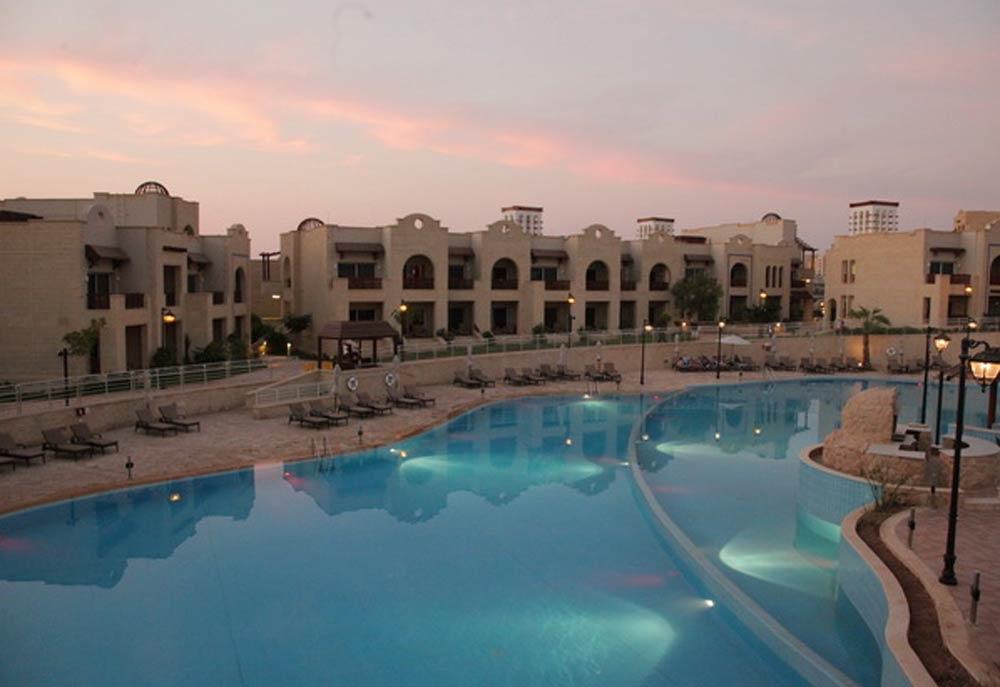 Crowne Plaza Jordan Dead Sea Resort.