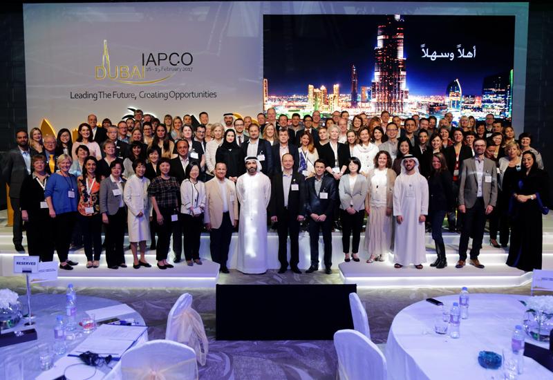 Delegates of the 48th IAPCO in Dubai.