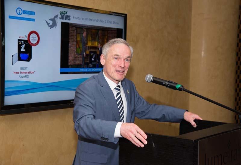 Minister for Jobs, Enterprise and Innovation, Richard Bruton TD.