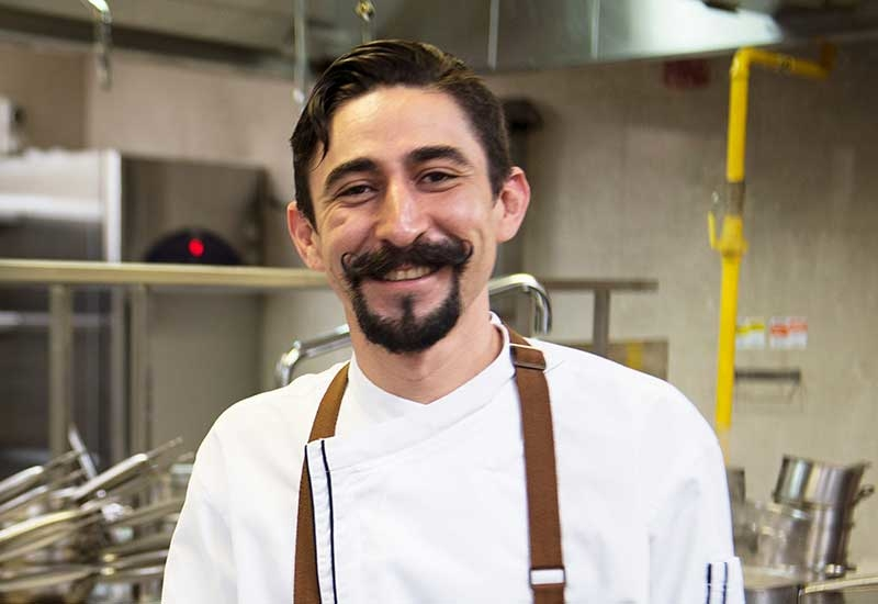 Ivan Vidal is the new chef de cuisine for La Tablita, and is new to Dubai.