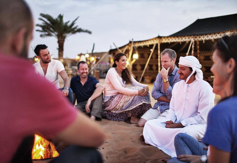 20% of visitors to Dubai engage in desert safaris, and similar activities