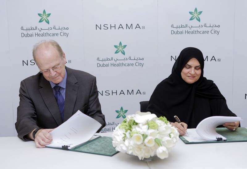 Dubai Healthcare City announces joint venture with Nshama to develop Phase 2.