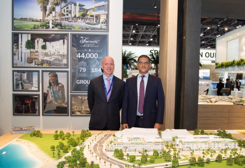 Francois Baudin, SVP, Development Luxury Hotels Europe Middle East and Africa, Accor and M'hammed El Merini, GM, Eagle Hills Morocco