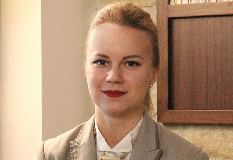 Elena Guseva, butler, Kempinski Mall of the Emirates.