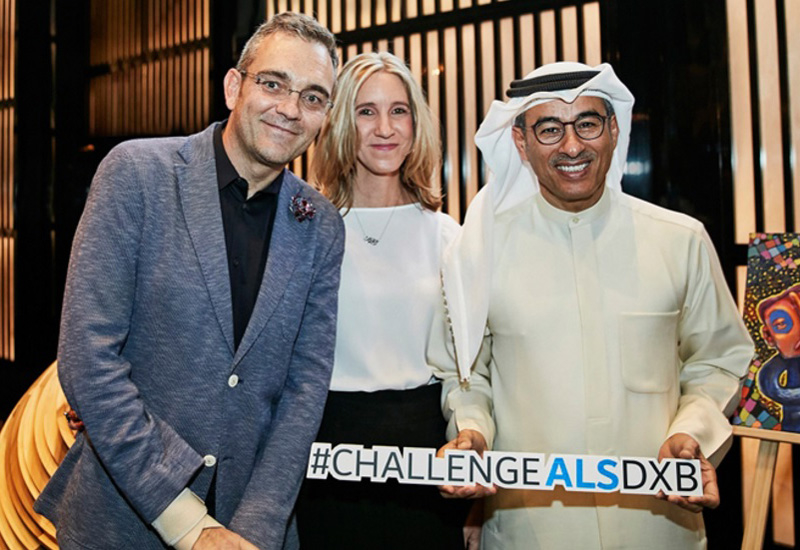 Emaar Foundation hosted a charity art auction to raise ALS awareness.