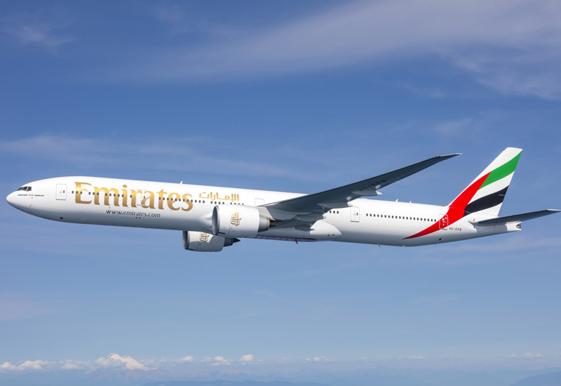 Emirates' direct daily flights to Hanoi is operated by a two-class configured Boeing 777-300ER.