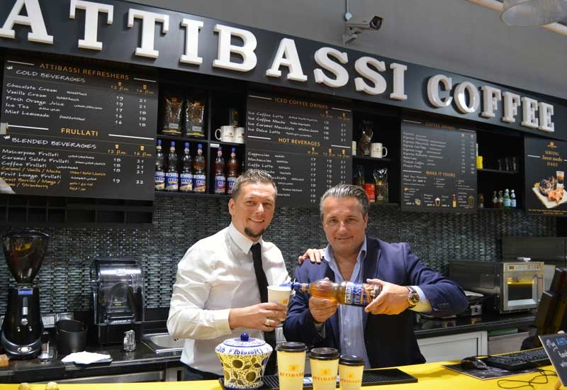 The companies announced the partnership during a launch event at Attibassi's Dubai Mall branch