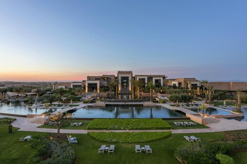 Fairmont Royal Palm Marrakech.