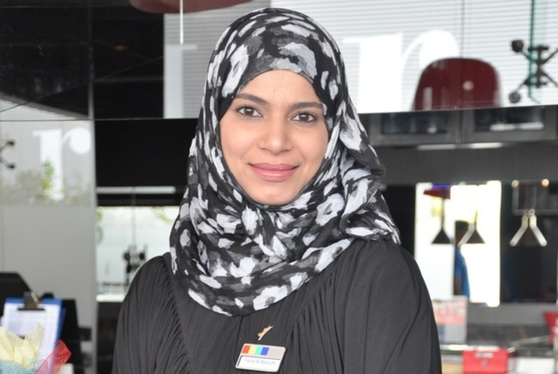 Faiza Al Balushi.
