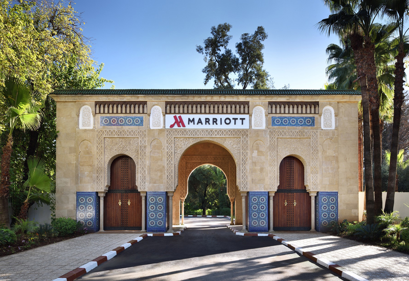 The Fes Marriott Hotel Jnan Palace is Marriott's first property in Morocco.