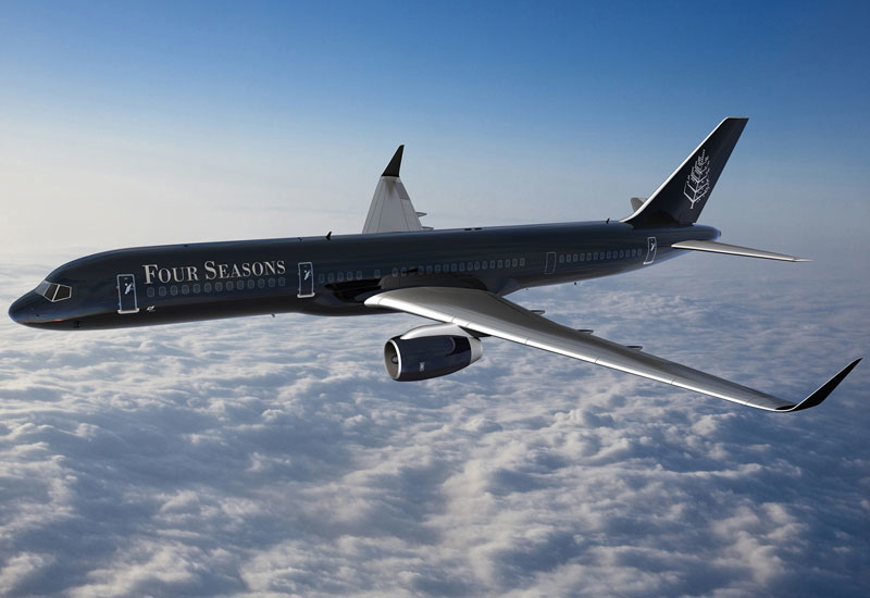 The Four Seasons Private Jet