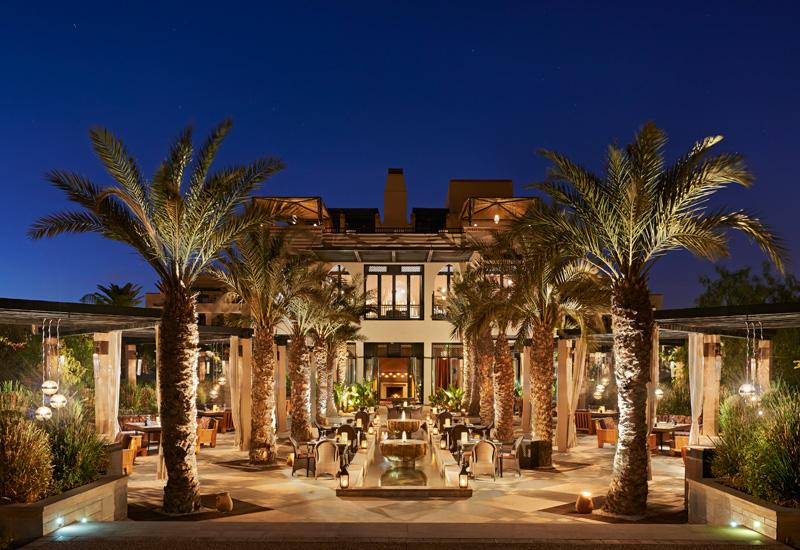 The Arancino Terrace at the Four Seasons Marrakech