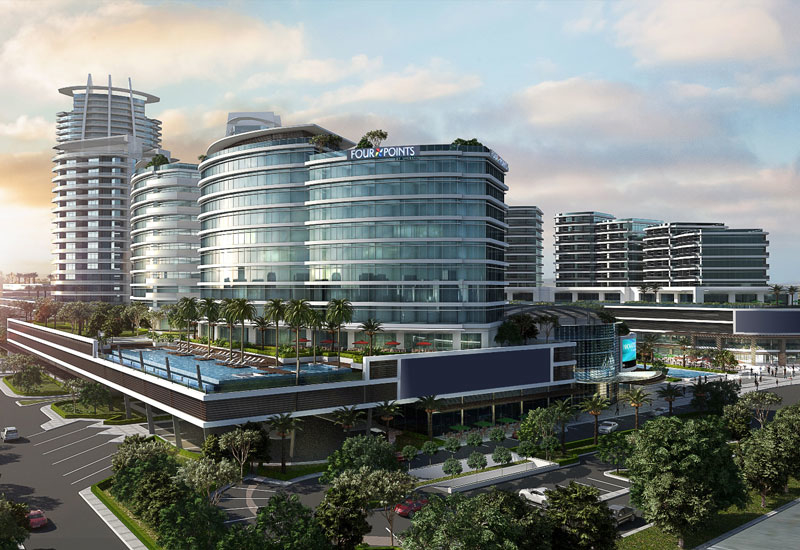 A rendering of the upcoming Four Points by Sheraton Ras Al Khaimah.
