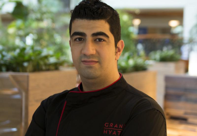 Grand Hyatt Dubai executive sous chef - outlets Mahmoud Alkahwaji.