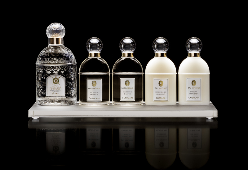 The redesigned Eau Imperiale collection.