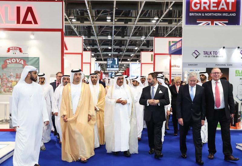 His Highness Sheikh Hamdan bin Rashid Al Maktoum Deputy Ruler of Dubai and UAE Minister of Finance opened Gulfood 2018