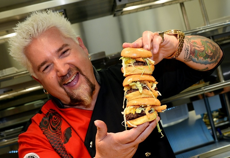 Celebrity chef Guy Fieri