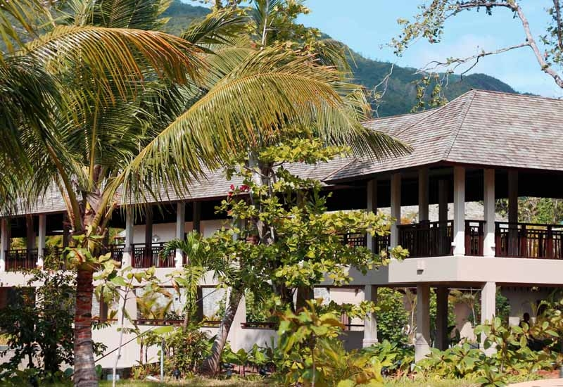 H Resort Beau Vallon Beach, Seychelles.