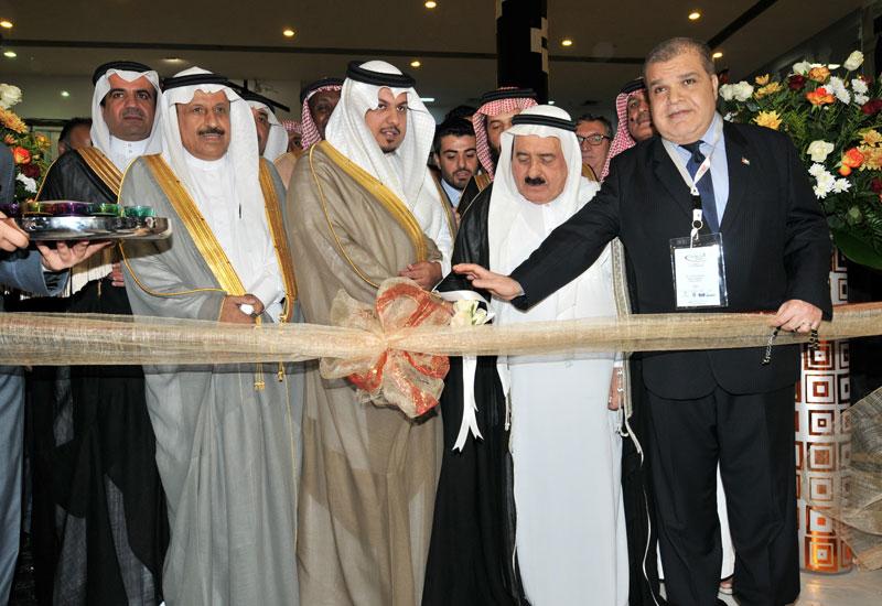HH Prince Khalid bin Saud bin Khalid bin Turki Al Saud opens Foodex Saudi 2014