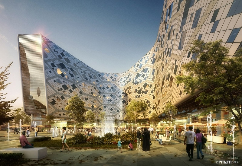 Hilton Dubai World Central rendering