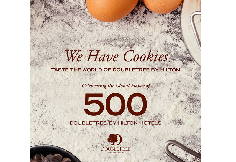 DoubleTree by Hilton has released a digital cookbook.