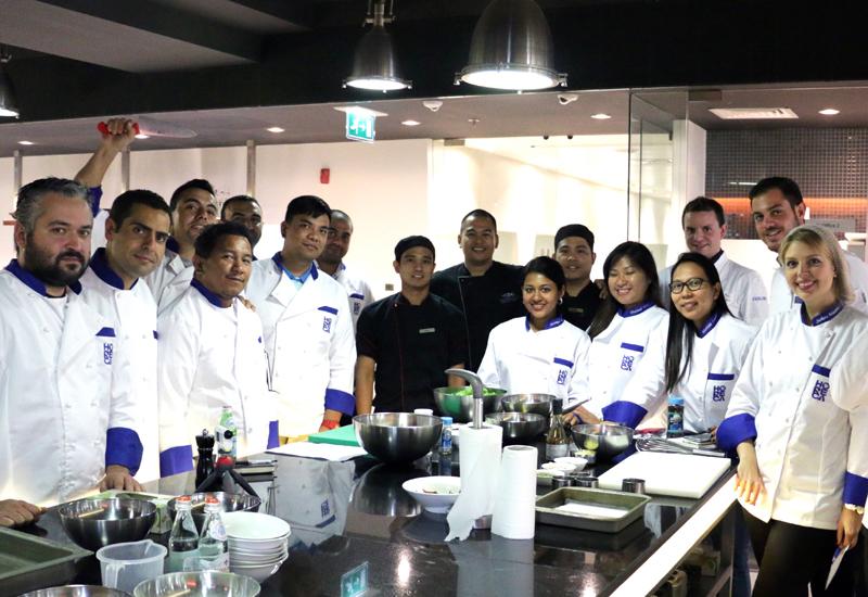 The Horeca Trade employees with the Atlantis chefs