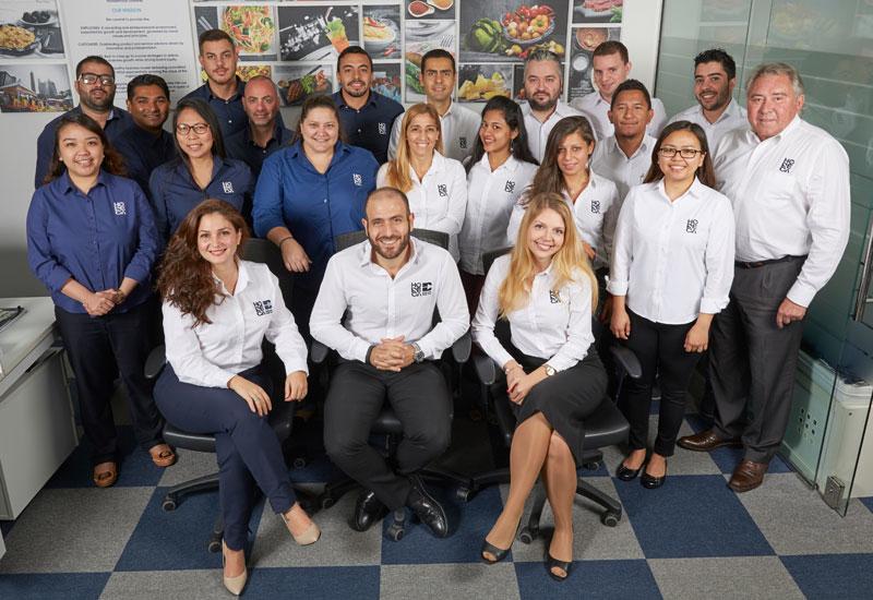 The Horeca Trade team who work at the Dubai office.