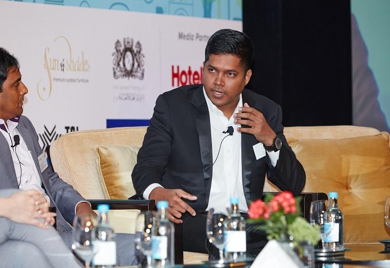 The Oberoi Dubai housekeeping manager Sujith Sebastian.