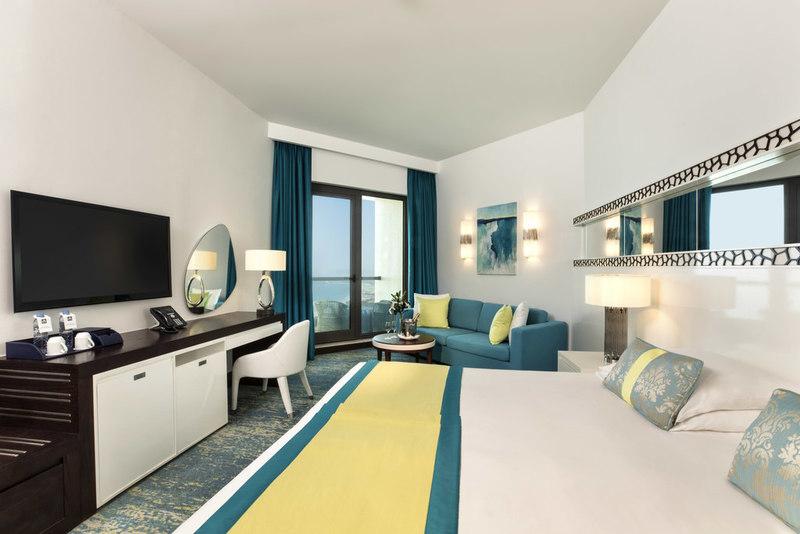 A superior sea view room at JA Ocean View Hotel, Dubai Marina.