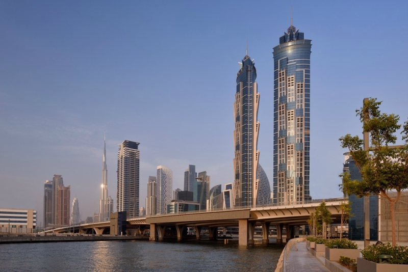 JW Marriott Marquis Dubai.
